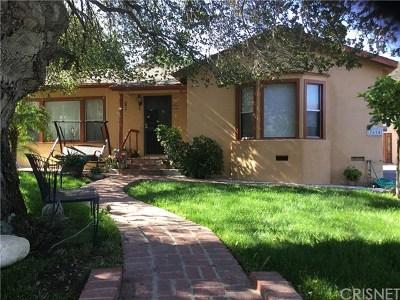 Tujunga Single Family Home For Sale: 7614 Valmont Street