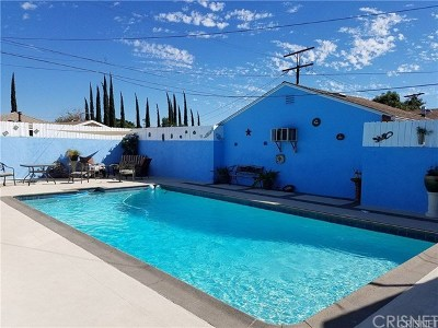 North Hollywood Single Family Home For Sale: 6170 Cleon Avenue