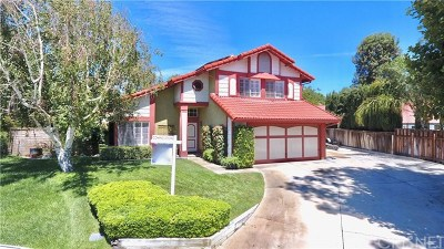 Castaic Single Family Home For Sale: 27729 Stowe Lane