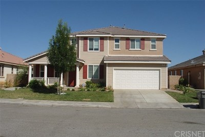 Palmdale Single Family Home For Sale: 3631 Mountain Shadows Court