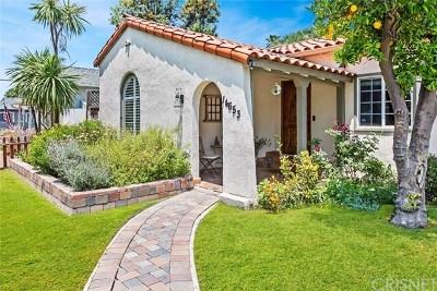 Sherman Oaks Single Family Home For Sale: 14653 Albers Street
