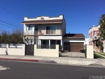Hollywood Multi Family Home Active Under Contract: 1201 Tamarind Avenue