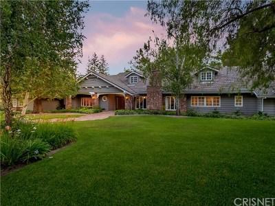 Chatsworth Single Family Home For Sale: 22560 La Quilla Drive