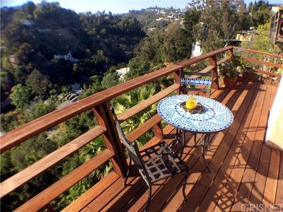 Hollywood Hills Single Family Home For Sale: 8309 Yucca Trail