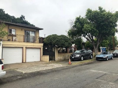 Sylmar Multi Family Home For Sale: 13631 Eldridge Avenue