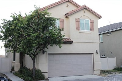 Castaic Single Family Home For Sale: 31546 Rocca Drive