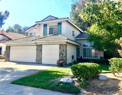 Castaic Single Family Home For Sale: 27727 Rainier Road