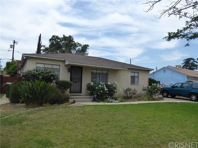 Panorama City Single Family Home For Sale: 8863 Katherine Avenue