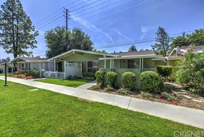 Newhall Condo/Townhouse Active Under Contract: 19118 Avenue Of The Oaks #D