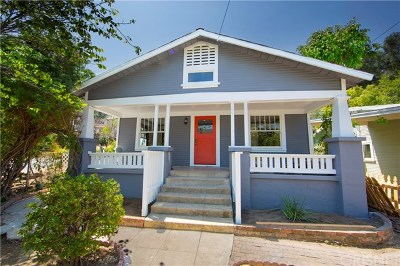 Eagle Rock Single Family Home Active Under Contract: 1936 Chickasaw Avenue