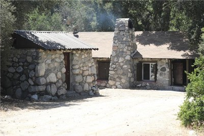 Azusa Single Family Home For Sale: 13 San Gabriel Canyon Road
