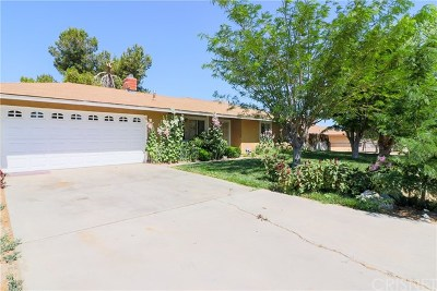 Lake Los Angeles Single Family Home For Sale: 40553 156th Street E