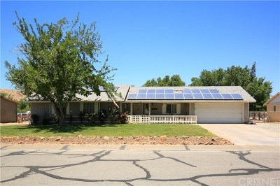 Lake Los Angeles Single Family Home Active Under Contract: 15801 E Avenue Q7