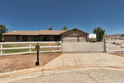 Single Family Home For Sale: 32895 Chantada Avenue