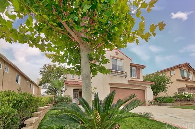 Castaic Single Family Home Active Under Contract: 32231 Big Oak Lane