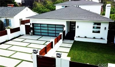 Studio City Single Family Home For Sale: 4122 Vantage Avenue