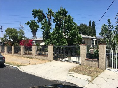North Hollywood Single Family Home For Sale: 6056 Craner Avenue