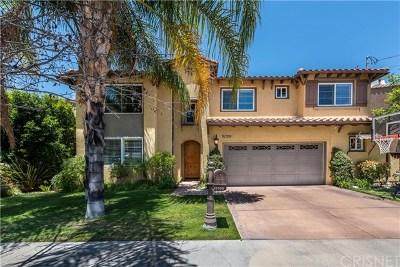Encino Single Family Home For Sale: 15709 Milbank Street