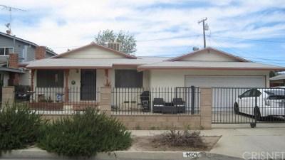 Lancaster Single Family Home For Sale: 44329 4th Street E