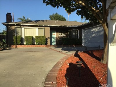 Winnetka Single Family Home For Sale: 8852 Keokuk Avenue