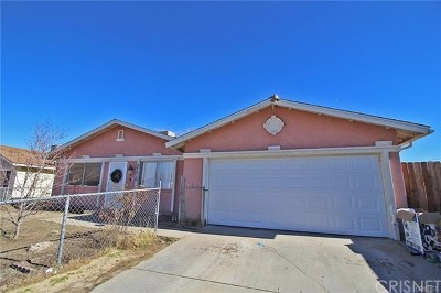 Palmdale Single Family Home For Sale: 37210 Cedrela Avenue