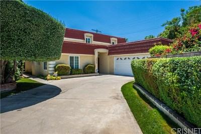 Sherman Oaks Single Family Home For Sale: 14256 Margate Street