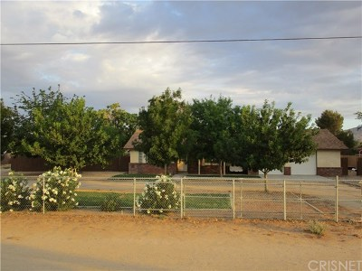 Palmdale, Lancaster, Quartz Hill, Leona Valley, Lake Elizabeth, Lake Hughes, Antelope Acres, Rosamond, Littlerock, Juniper Hills, Pearblossom, Lake Los Angeles, Wrightwood, Llano Single Family Home For Sale: 2052 W Avenue M12