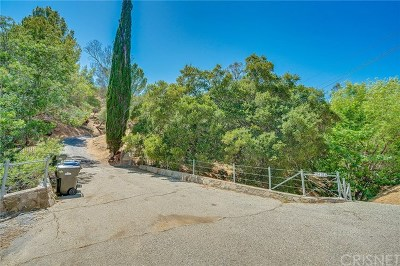 Calabasas Single Family Home For Sale: 24761 Mulholland
