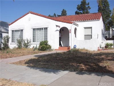 Glendale Single Family Home For Sale: 731 Cordova Avenue