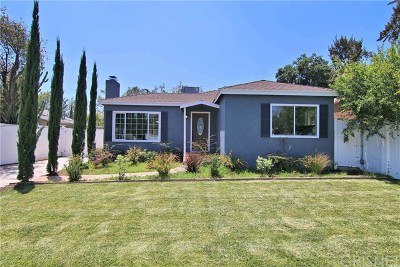 North Hollywood Single Family Home For Sale: 6151 Colfax Avenue
