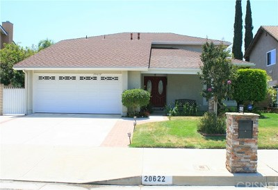Chatsworth Single Family Home For Sale: 20622 N Vintage Street N