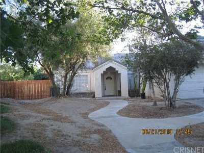 Palmdale Single Family Home For Sale: 37509 Golden Circle