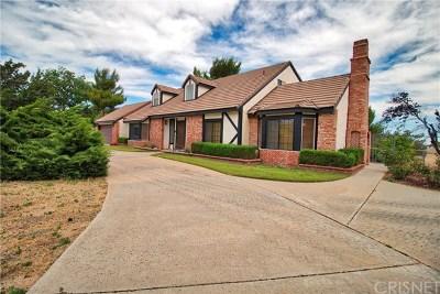 Lancaster, Palmdale Single Family Home For Sale: 2243 W Avenue O
