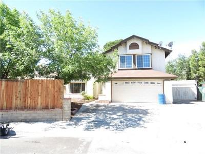 Palmdale Single Family Home For Sale: 36853 Santolina
