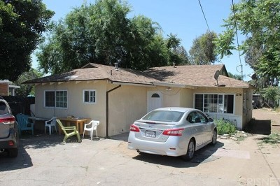 Sylmar Single Family Home For Sale: 12739 Bradley Avenue