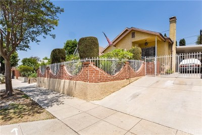 Los Angeles Single Family Home For Sale: 5043 Meridian Street