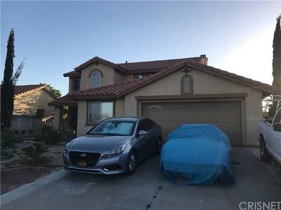 Palmdale Single Family Home For Sale: 36857 42nd Street E