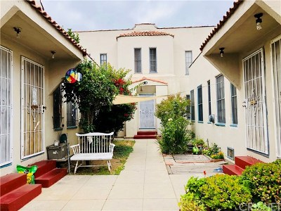 Los Angeles Multi Family Home For Sale: 1246 N Kenmore Avenue