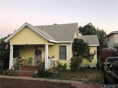 Upland Single Family Home Active Under Contract: 1418 Bowen Street