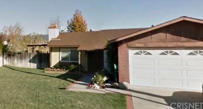 Castaic Single Family Home Active Under Contract: 28033 Fox Run Circle
