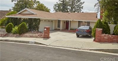 Northridge Single Family Home For Sale: 11349 Sinclair Avenue