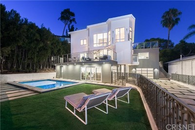 Hollywood Hills Single Family Home For Sale: 1432 N Kings Road