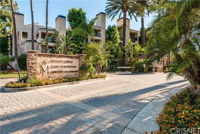 Woodland Hills Condo/Townhouse For Sale: 5500 Owensmouth Avenue #213