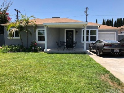 North Hollywood Single Family Home For Sale: 6015 Beck Avenue