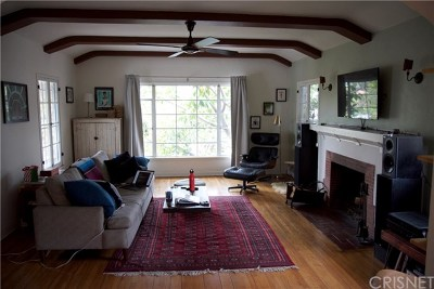 Los Feliz Multi Family Home Active Under Contract: 1964 Palmerston Place
