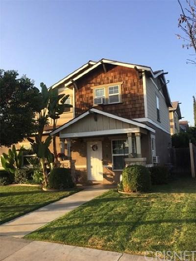 San Fernando Condo/Townhouse For Sale: 1321 Glenoaks