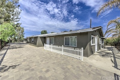 Canyon Country Single Family Home For Sale: 15541 Sierra Highway