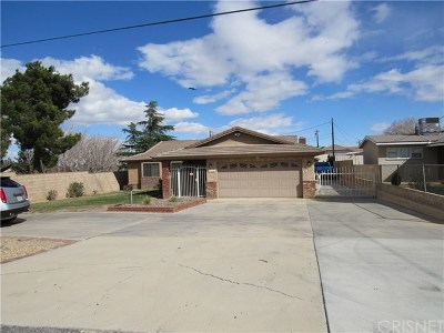 Quartz Hill Single Family Home For Sale: 41910 60th St. West