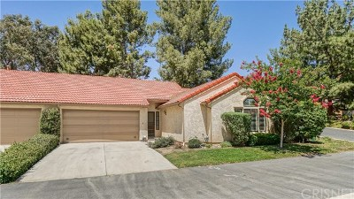 Newhall Condo/Townhouse Active Under Contract: 19971 Avenue Of The Oaks