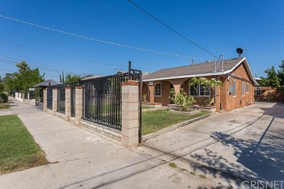 Pacoima Multi Family Home For Sale: 13132 Kagel Canyon Street